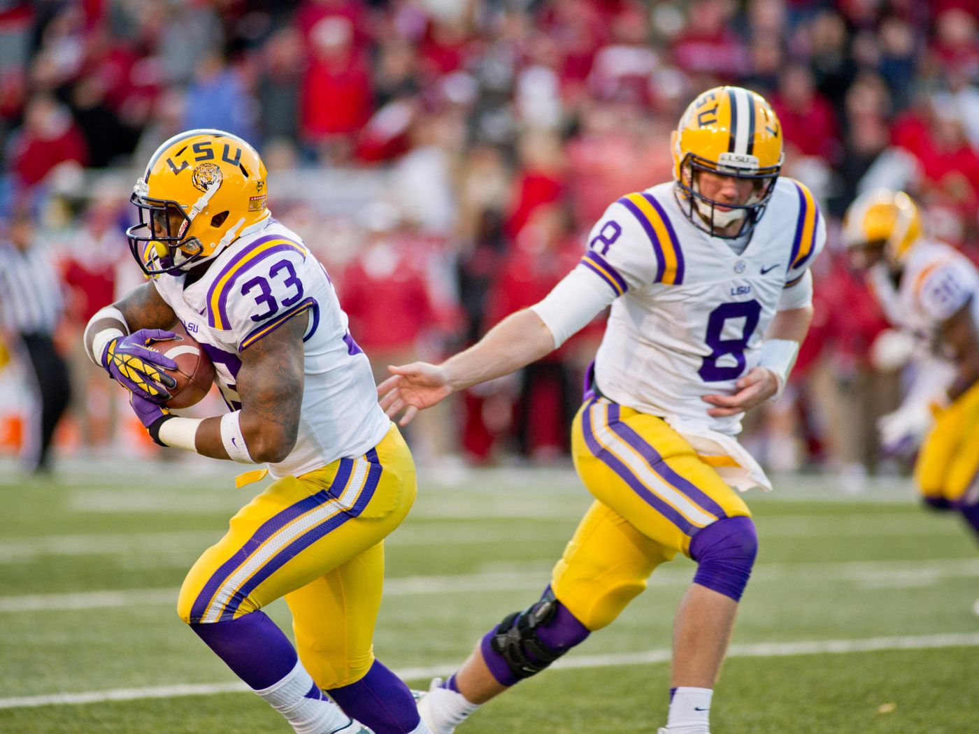 2013 LSU Football Preview: The Offense - Frogs O' War
