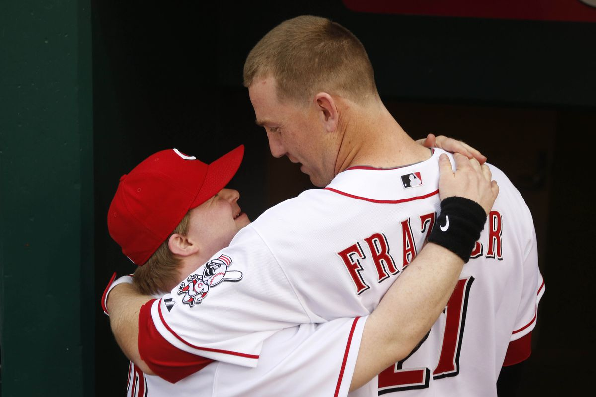 Cincinnati Reds honorary batboy Ted Kremer had three wishes for Thursday's game. Todd Frazier granted two of those wishes with one swing of the bat.