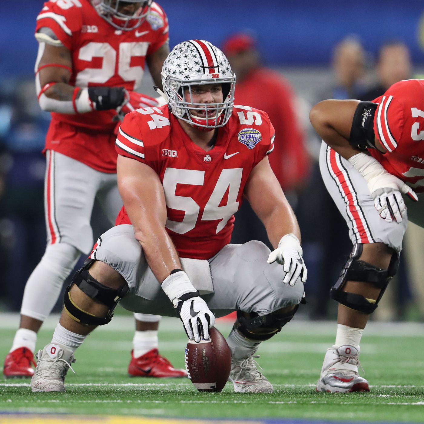 Film room scouting report on Ohio State guard/center Billy Price ...