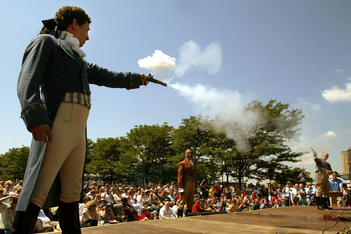 Re-enacting the Twitter war of 1804.
