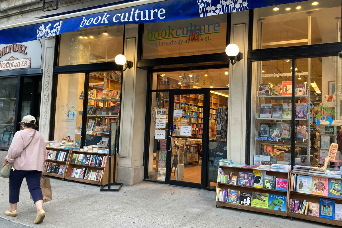 A Book Culture outpost on Broadway at W. 114th Street, near Columbia University.