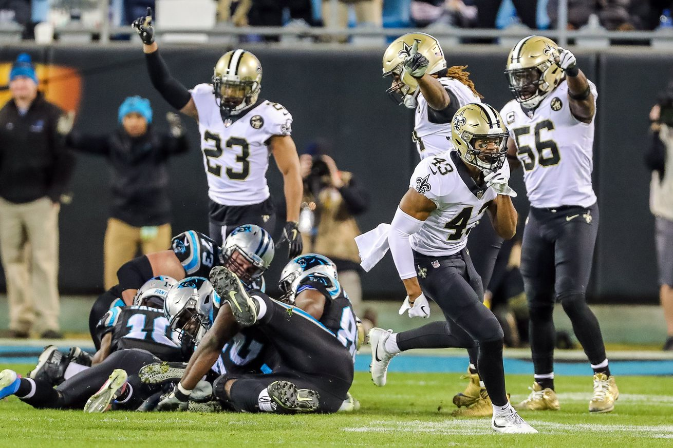 Saints Grind Out A Beautiful 12-9 Win Over The Panthers