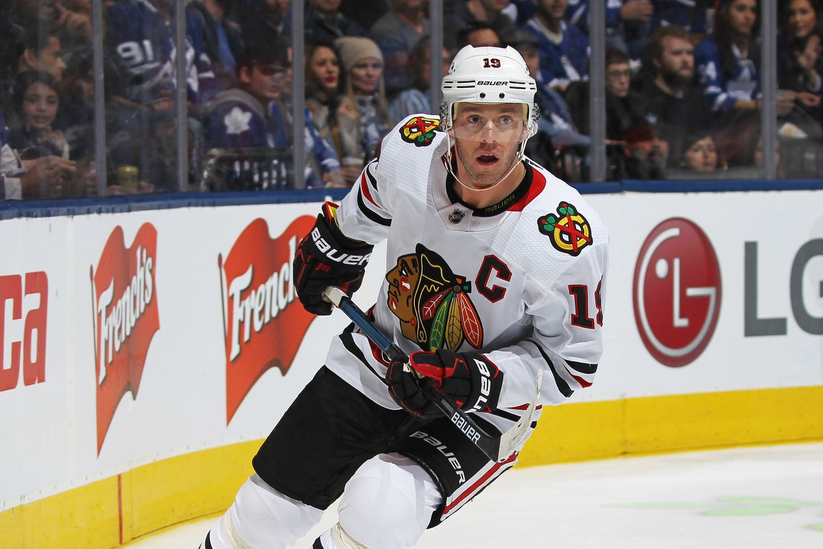 """Blackhawks captain Jonathan Toews posted an emotional statement Monday on Instagram, calling for """"white people to open our eyes and our hearts."""""""