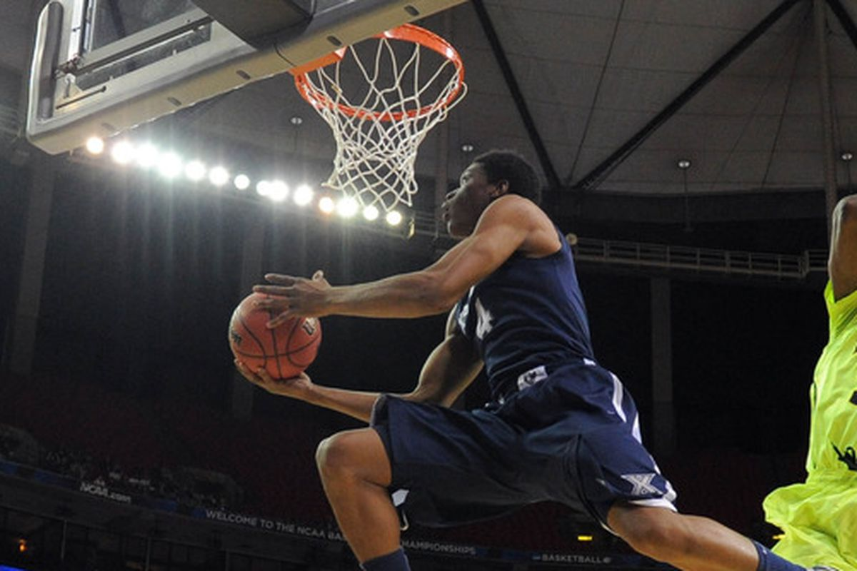 Travis Taylor will play a key role in Xavier's matchup against Kent State.