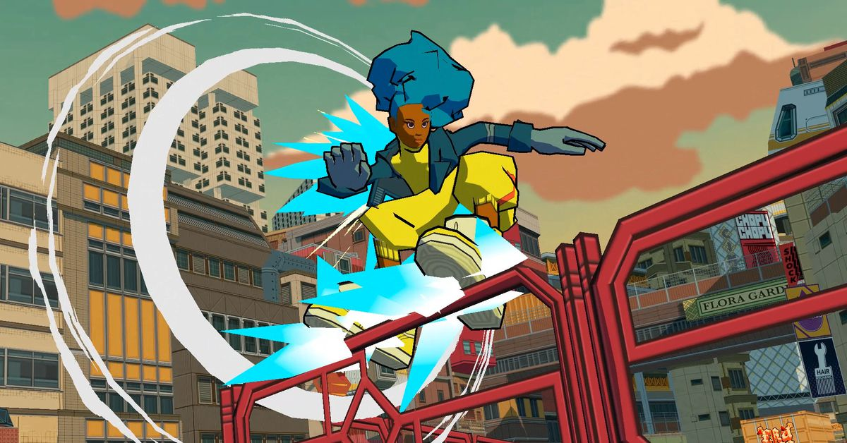 Jet Set Radio-inspired Bomb Rush Cyberfunk announced for 2022