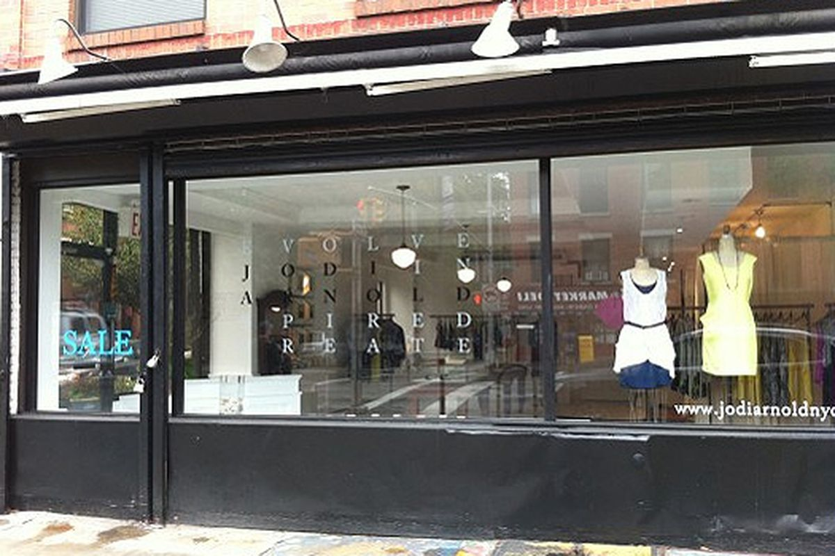 Brooklyn's Jodi Arnold shortly after its July launch