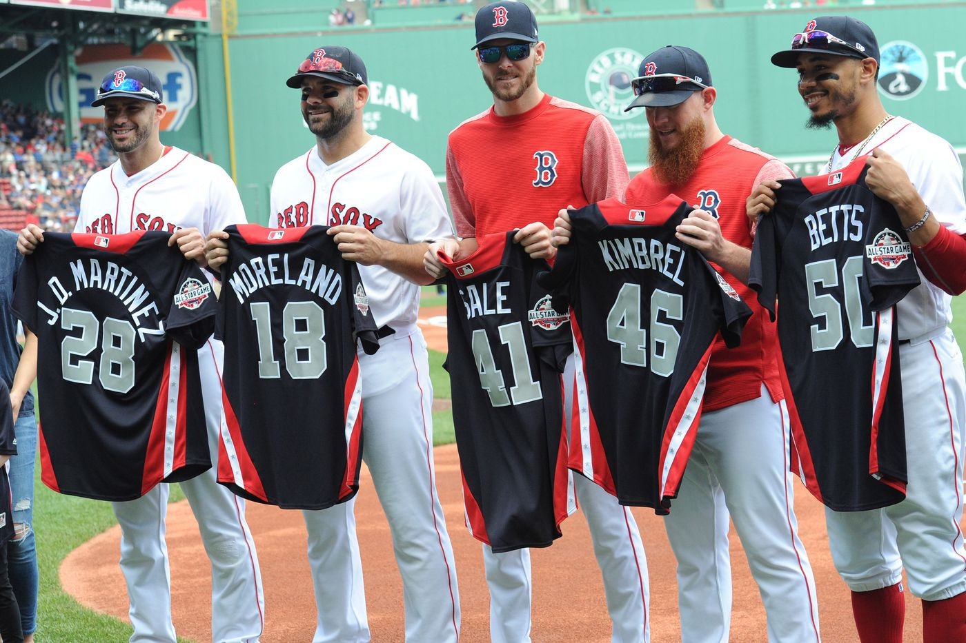 brand new b643f 4cd23 Red Sox History: The strangest All-Stars - Over the Monster