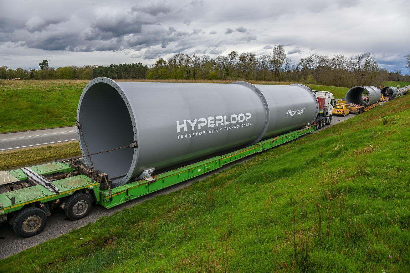 world s third hyperloop test track is now under construction