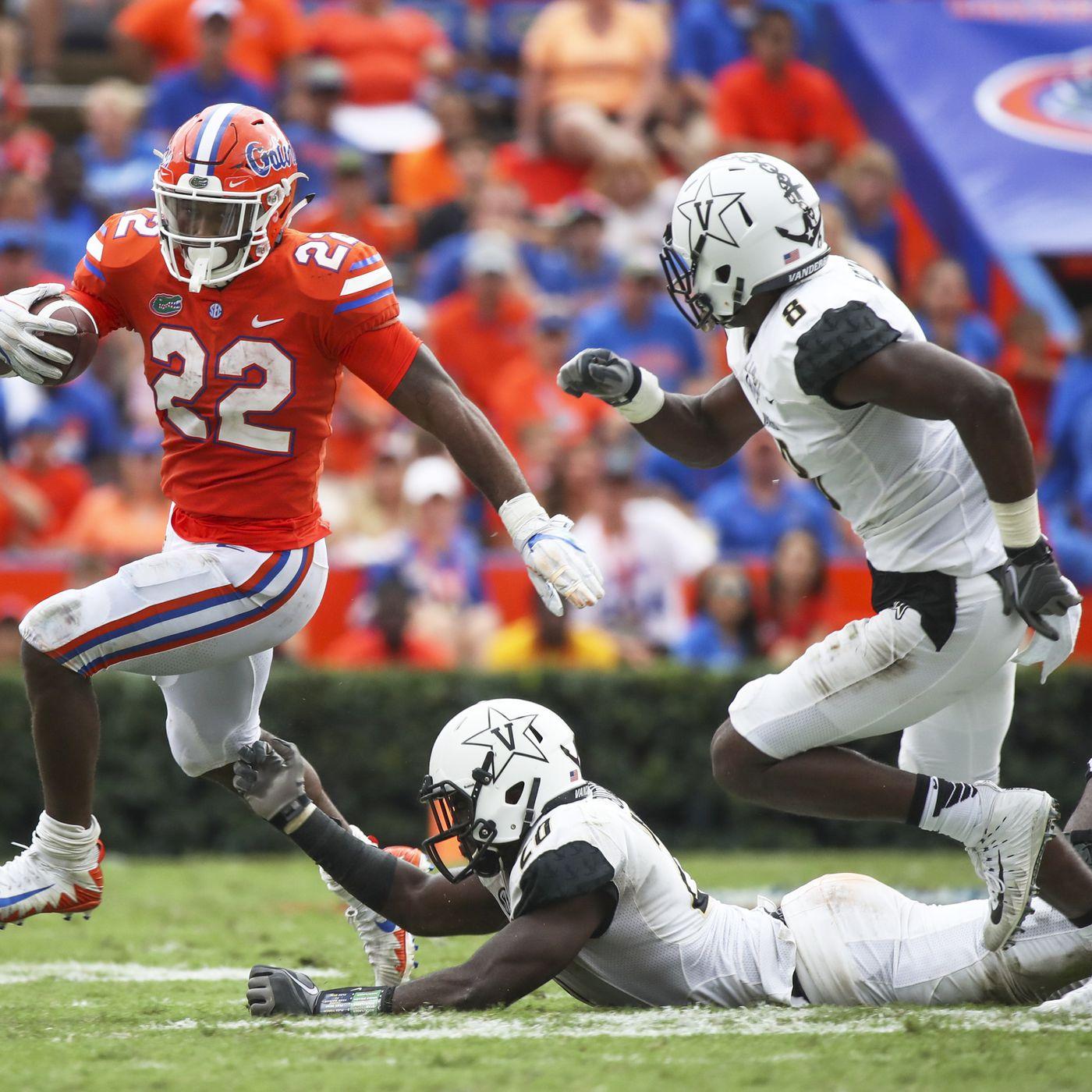 Florida Vs Vanderbilt Game Time TV Schedule Odds Preview Team Speed Kills