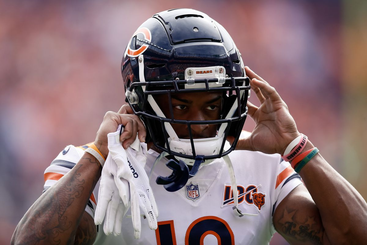 Chicago Bears wide receiver Allen Robinson before the game against the Denver Broncos at Empower Field at Mile High.