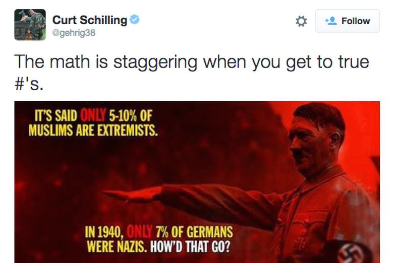 Schilling Tweet