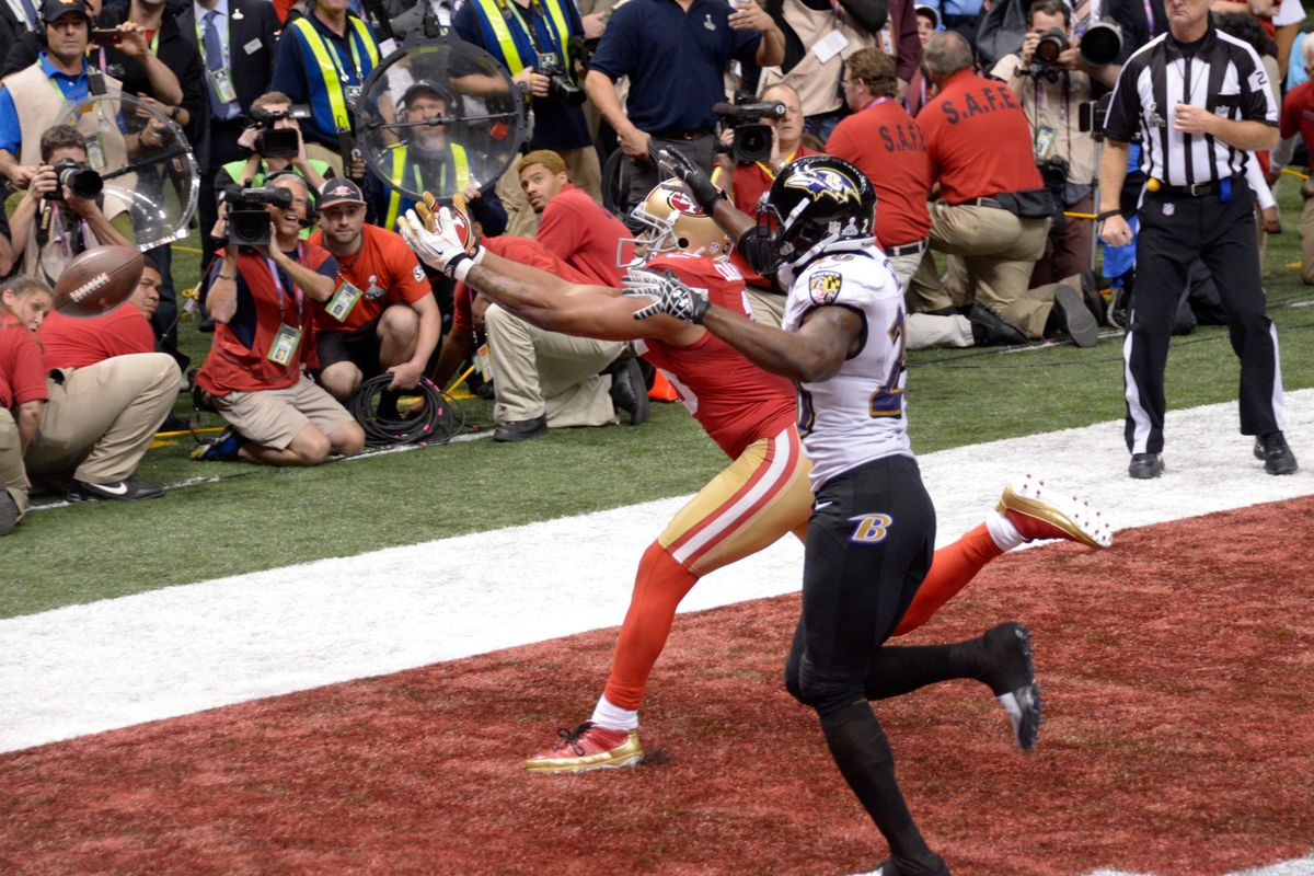 buy online 5f4ea 2720d Super Bowl 47: Breaking down the 49ers final drive - Niners ...