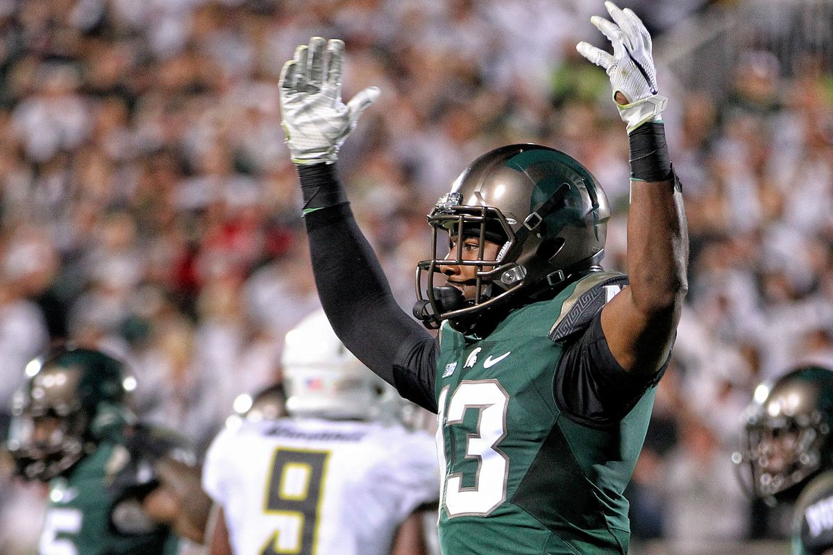 Michigan State CB Vayante Copeland not listed on roster, won't return