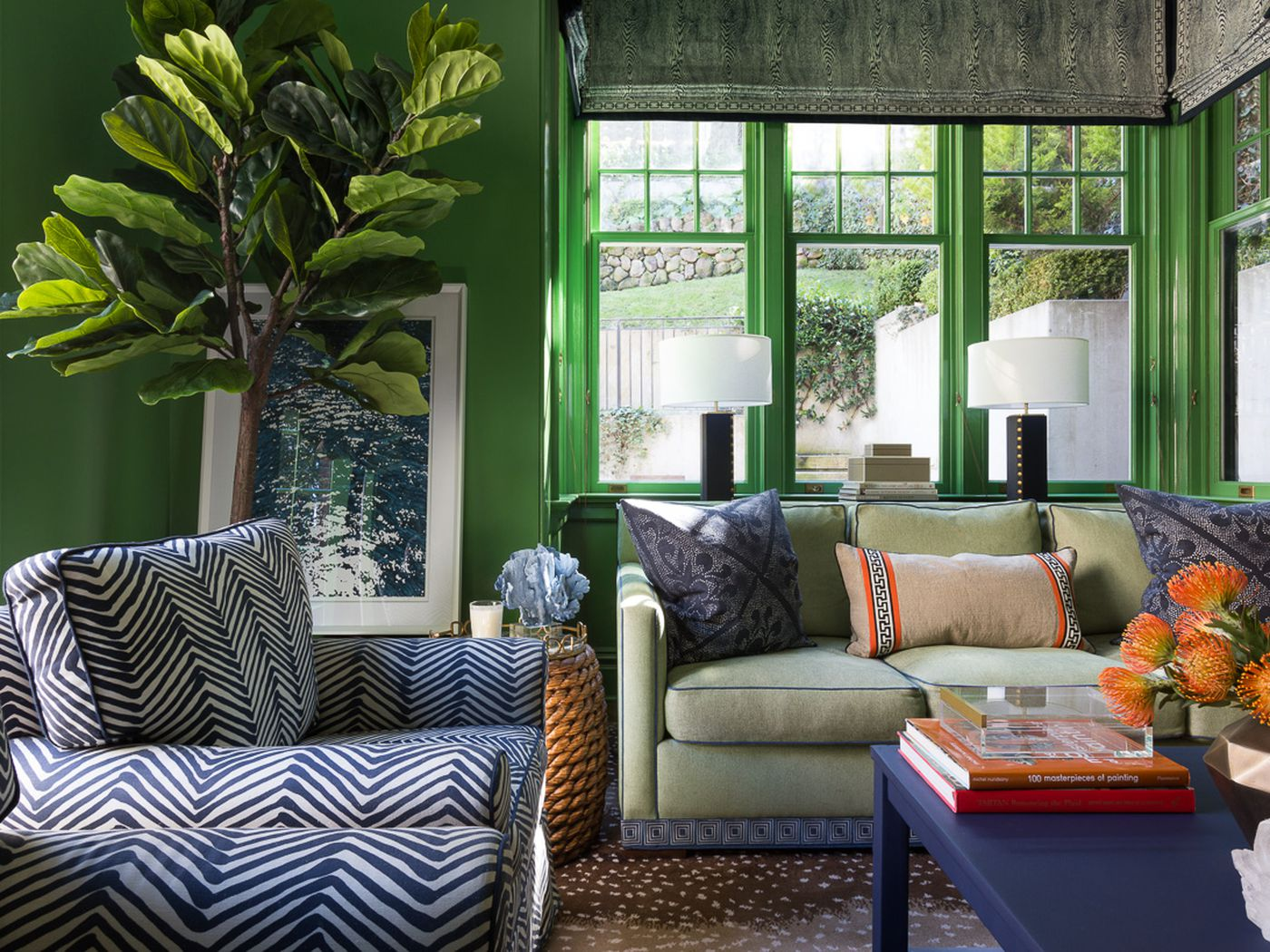 15 Bold Interior Paint Hues For Your Home