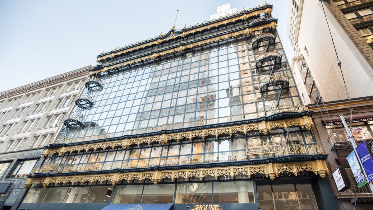 The Hallidie Building and how the curtain wall was born - Curbed SF