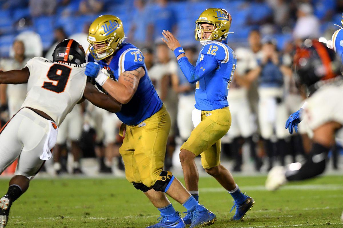NCAA Football: Oregon State at UCLA