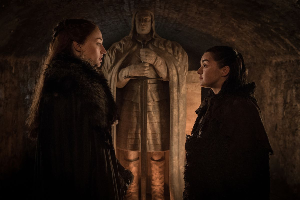 Image result for arya sansa and bran reunite s7 ep5