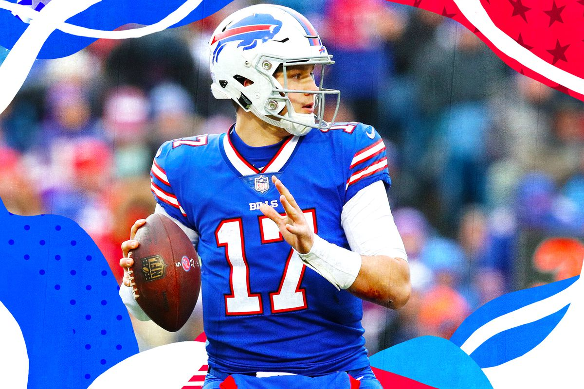 finest selection b6c8d be883 The Bills' 2019 season is about letting Josh Allen prove ...