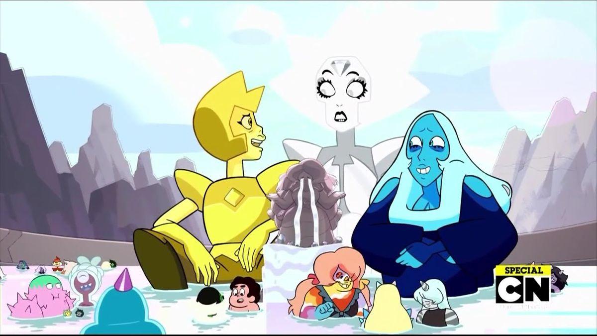 Steven Universe Finale Sunstone Obsidian Amp Steven S Gem