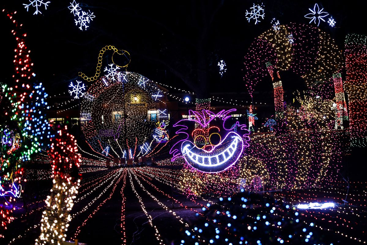Detroit Zoo Christmas Lights.2018 Zoolights Holiday Magic Schedule Events How To Get