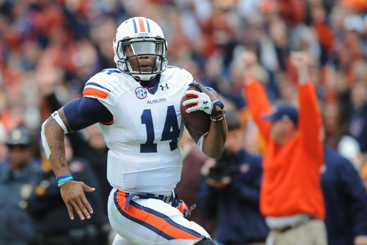 Nick Marshall just ran for another touchdown.