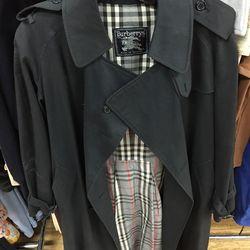 Vintage Burberry coat, $125