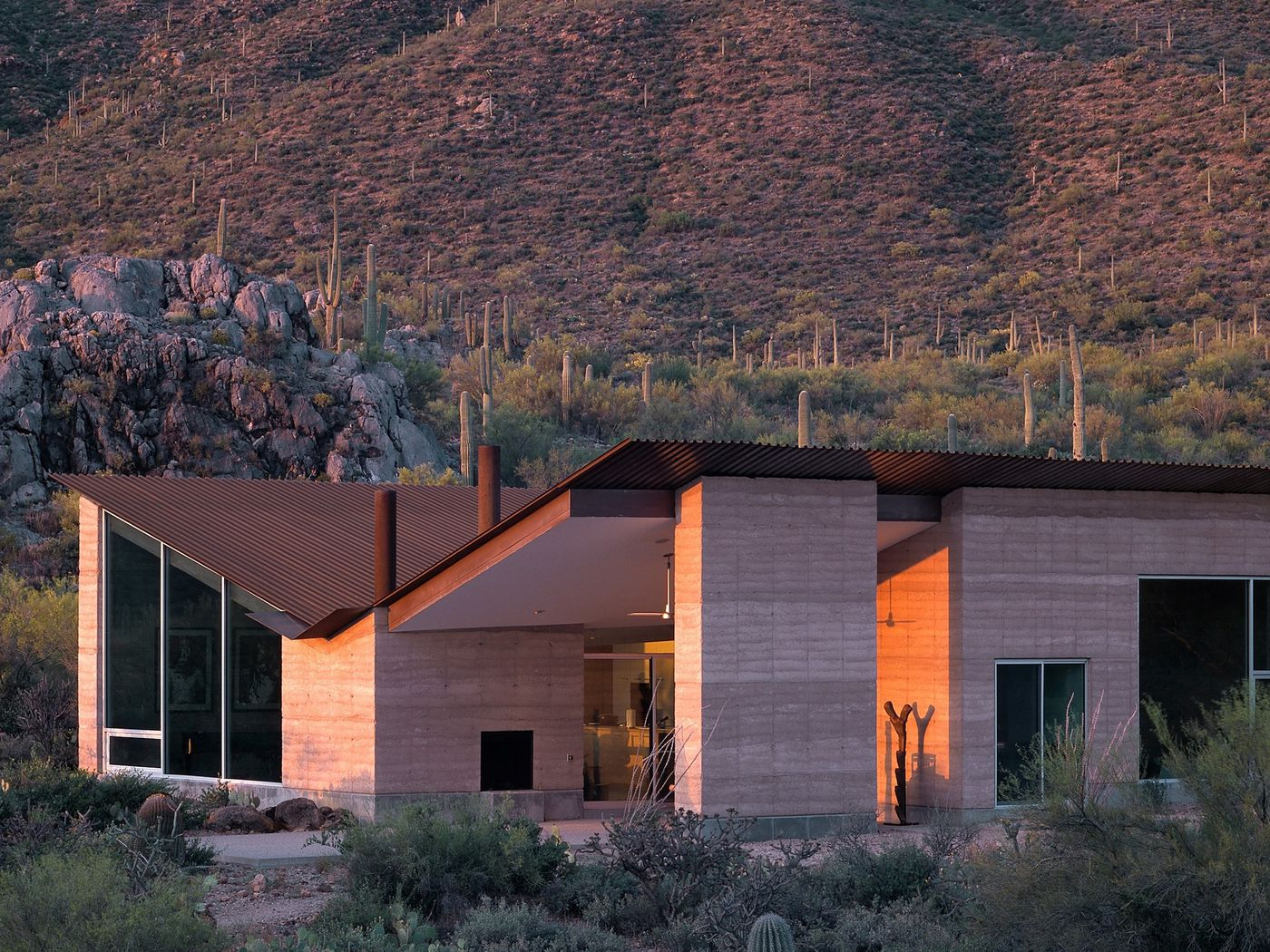 Rammed Earth Architecture A Versatile Green Construction Technique Curbed