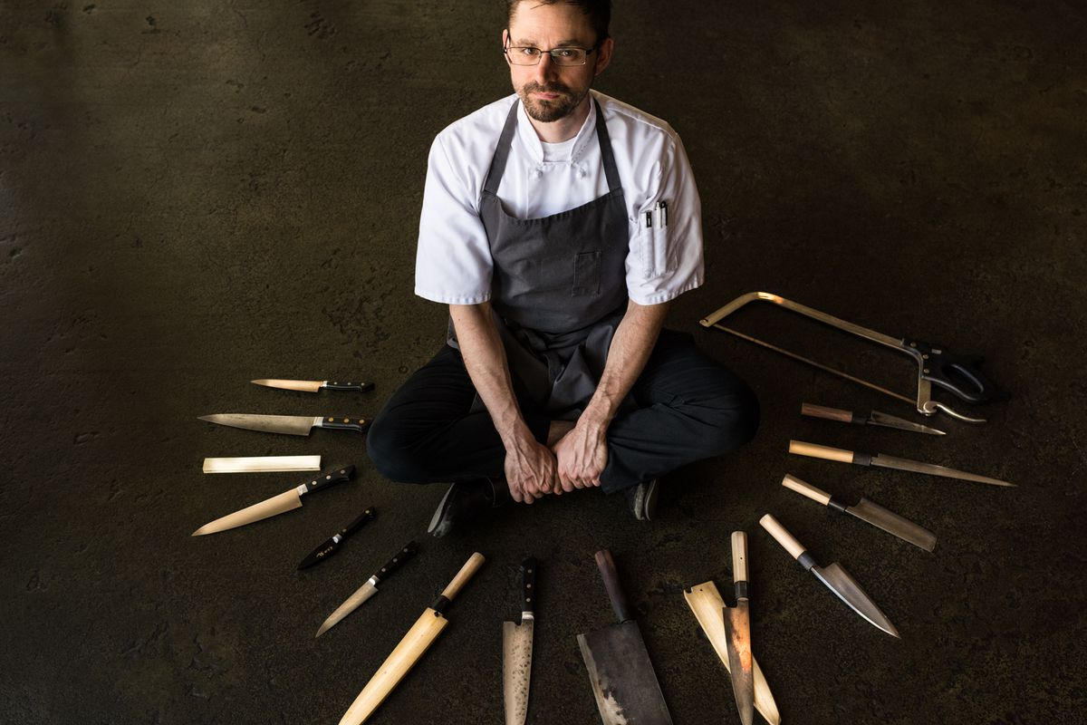 Justin Woodward, Executive chef of Castagna and Cafe Castagna