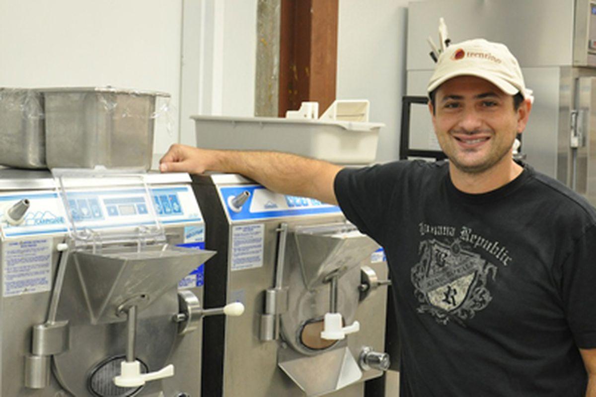 Marcelo Kreindel, owner of Trentino Gelato