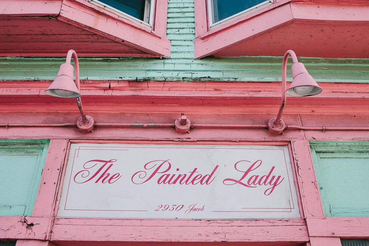 The Painted Lady.