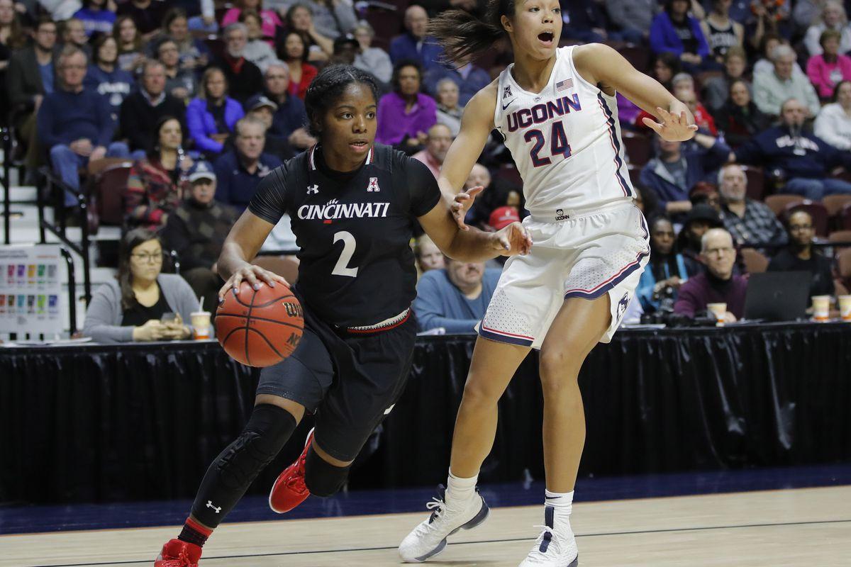 NCAA Womens Basketball: AAC Conference Tournament-Cincinnati vs Connecticut