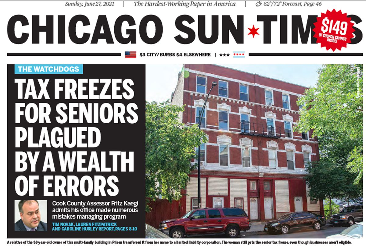 Click to read the June 27 Sun-Times report.