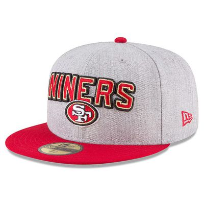 the best attitude ded75 9df6c Fanatics San Francisco 49ers New Era 2018 NFL Draft Official On Stage  59FIFTY Hat for  35.99