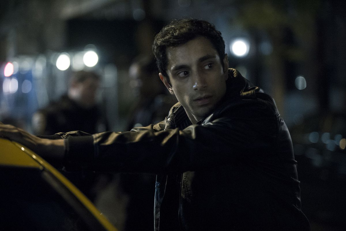 The Night Of - Naz Khan outside taxi