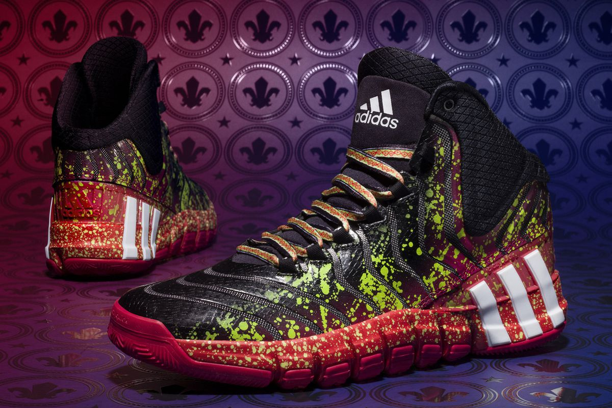 sale retailer 9c232 27c23 Adidas Unveils Blazers G Damian Lillards 2014 All-Star Game