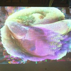 Awesome psychedelic video installation #1