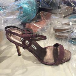 Exotic trim heel, size 37.5, $150