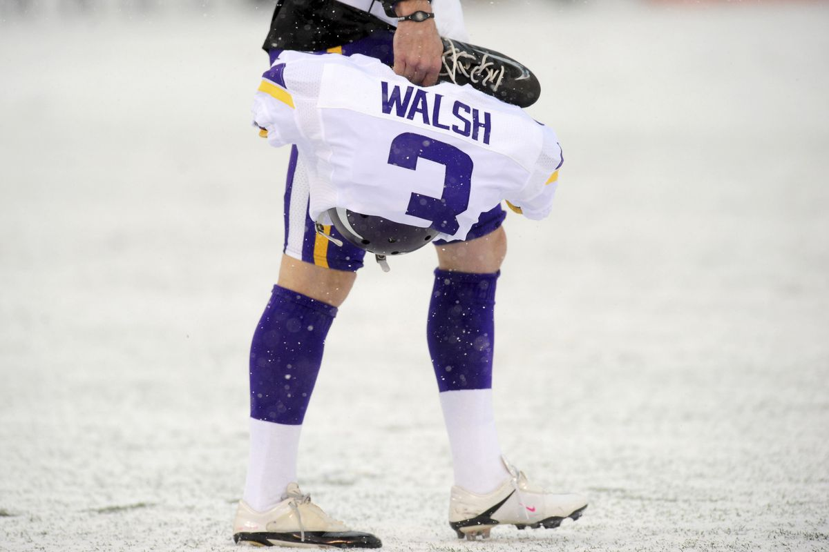 Blair Walsh and the Vikings will see a lot more of the white stuff the next two years.