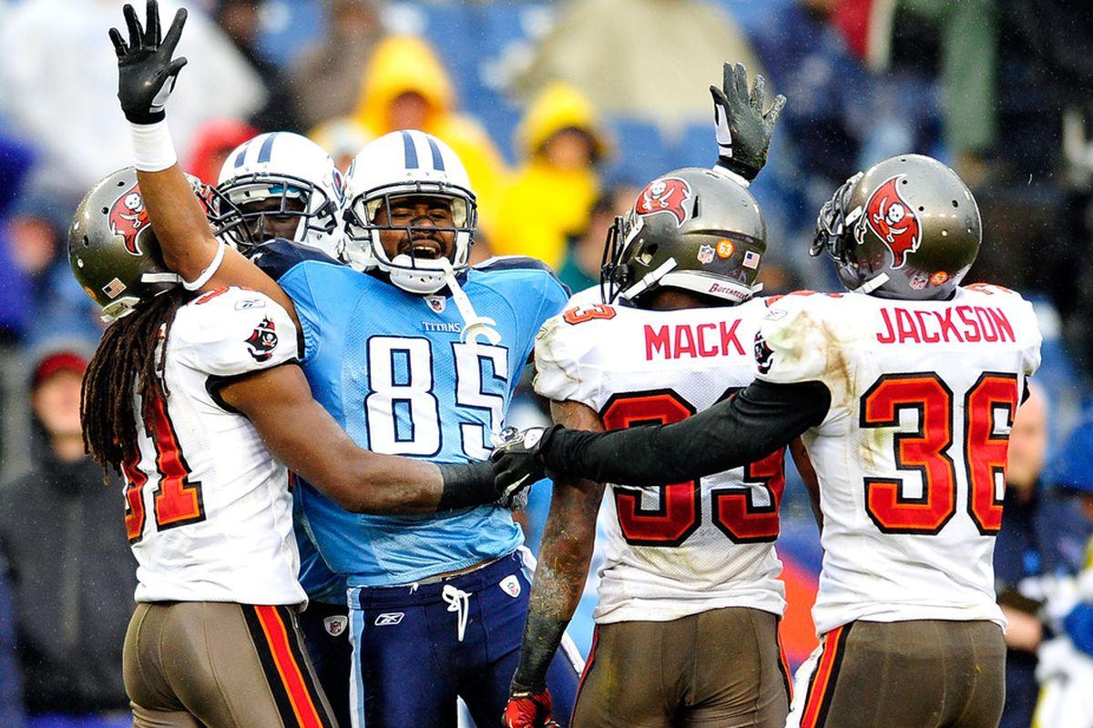 Nate Washington gives the Jesus wave to the football gods.