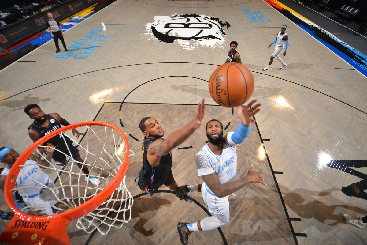Lakers vs. Nets Final Score: Andre Drummond shows why L.A. signed him -  Silver Screen and Roll