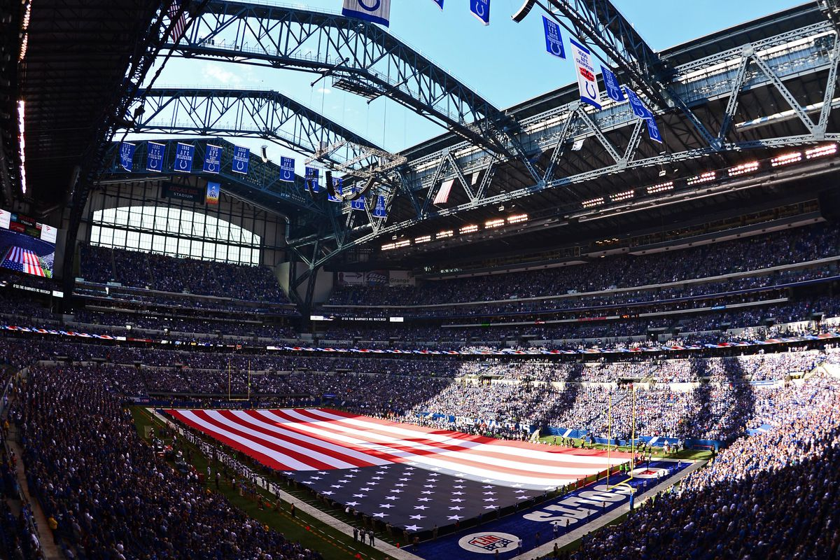Big Ten Football Championship Game at Lucas Oil Stadium ...