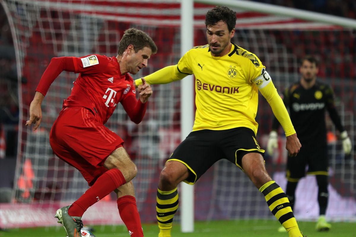 Three Observations From Bayern Munich S 4 0 Demolition Of Borussia Dortmund Bavarian Football Works