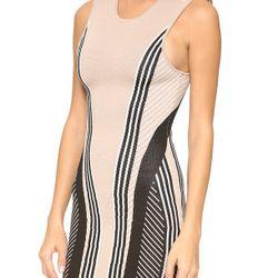 """Buff vertical stripe dress, $90 (was $465) via <a href=""""http://www.lyst.com/clothing/ohne-titel-vertical-stripe-dress-buffblackwhite/"""">Lyst</a>"""