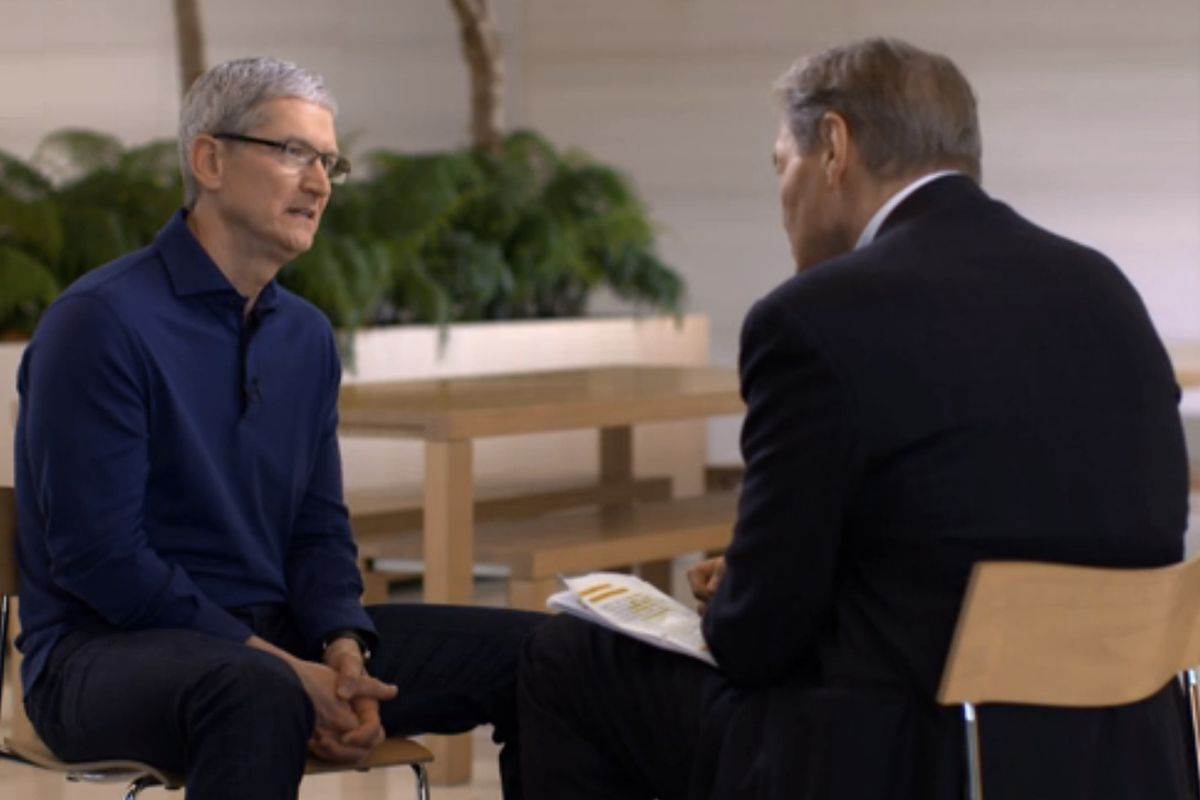 Apple CEO Tim Cook Mounts Defense of Encryption on '60 Minutes'