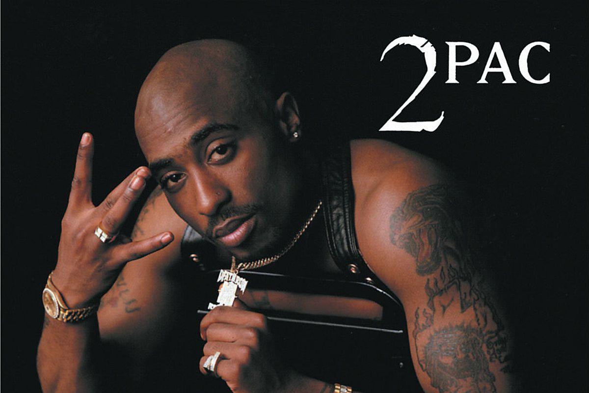 Tupac's 'All Eyez On Me' album cover art