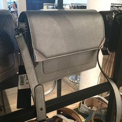 Silver crossbody, $266
