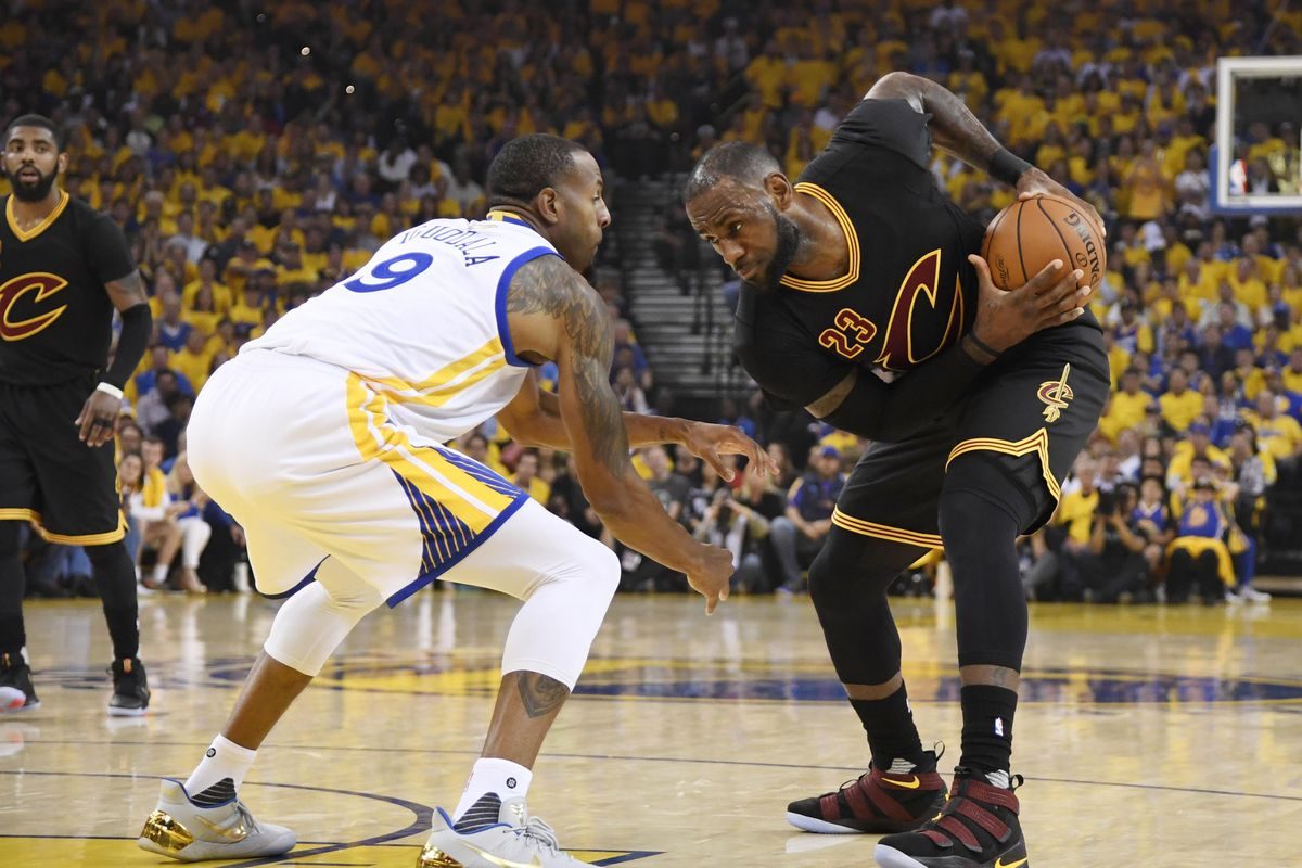 Warriors Andre Iguodala out for Game 1 of NBA Finals with injury - Golden State Of Mind