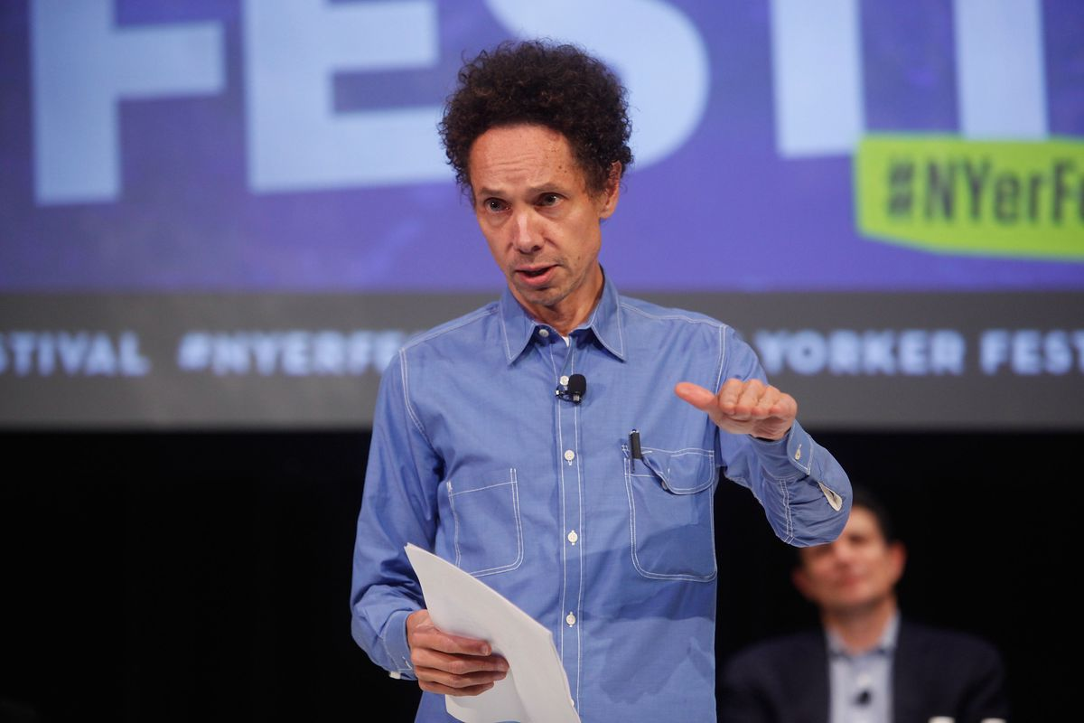 Malcolm Gladwell: not a Harvard fan.