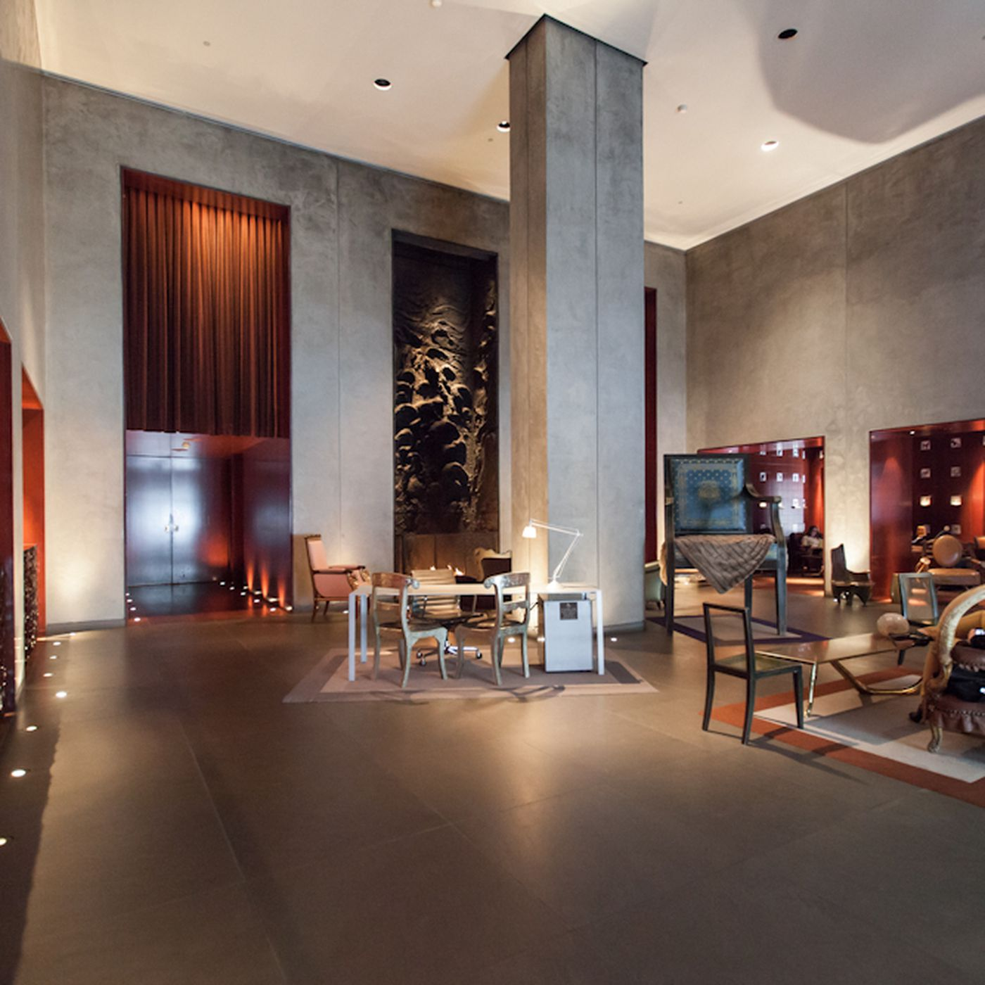 Inside The Philippe Starck Designed Clift Hotel Curbed Sf