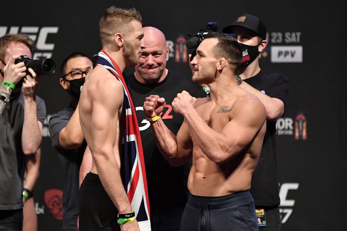 UFC 257 live blog: Dan Hooker vs. Michael Chandler - MMA Fighting
